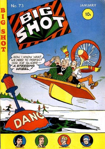 Cover for Big Shot (Columbia, 1942 series) #73