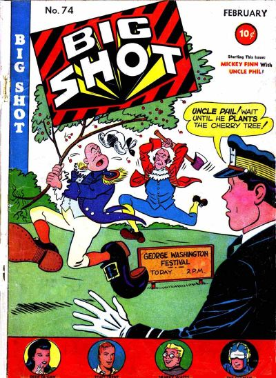 Cover for Big Shot (Columbia, 1942 series) #74