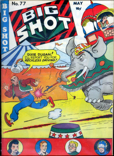 Cover for Big Shot (Columbia, 1942 series) #77