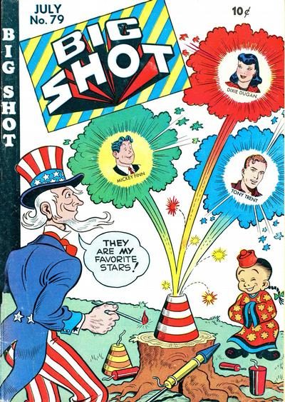 Cover for Big Shot (Columbia, 1942 series) #79
