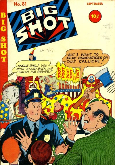Cover for Big Shot (Columbia, 1942 series) #81