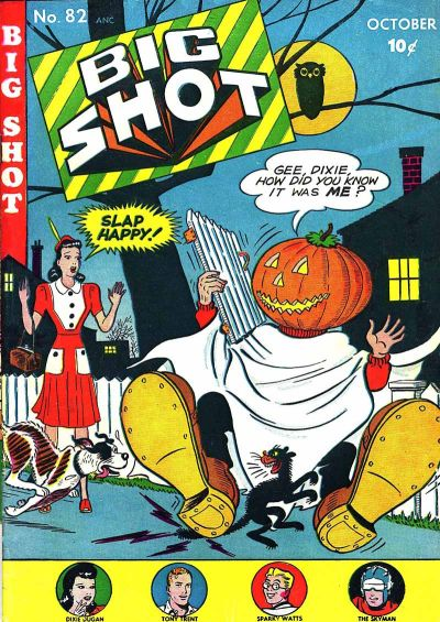 Cover for Big Shot (Columbia, 1942 series) #82