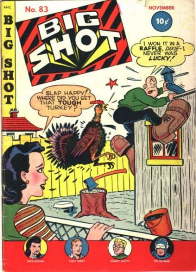 Cover for Big Shot (Columbia, 1942 series) #83
