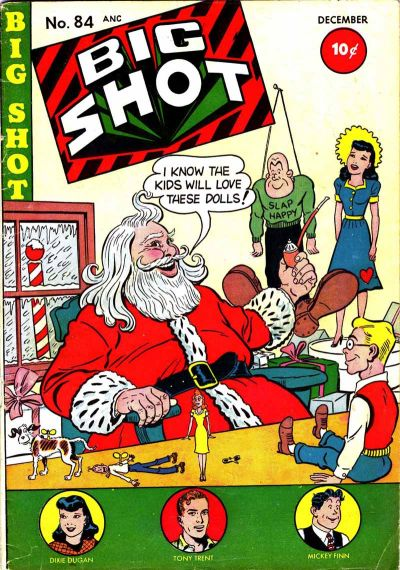 Cover for Big Shot (Columbia, 1942 series) #84