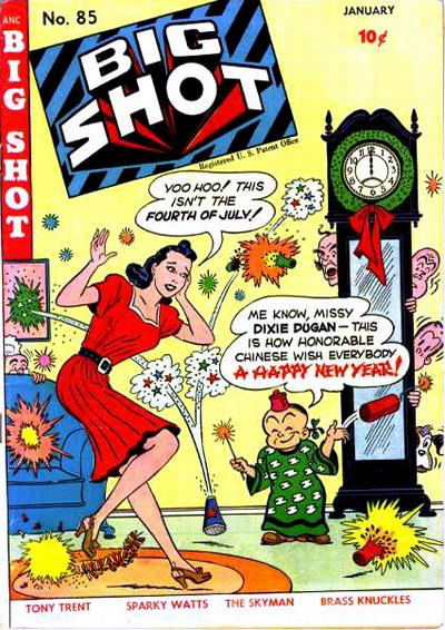 Cover for Big Shot (Columbia, 1942 series) #85