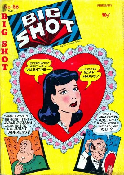Cover for Big Shot (Columbia, 1942 series) #86
