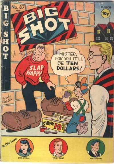 Cover for Big Shot (Columbia, 1942 series) #87