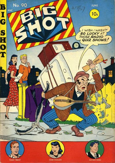 Cover for Big Shot (Columbia, 1942 series) #90