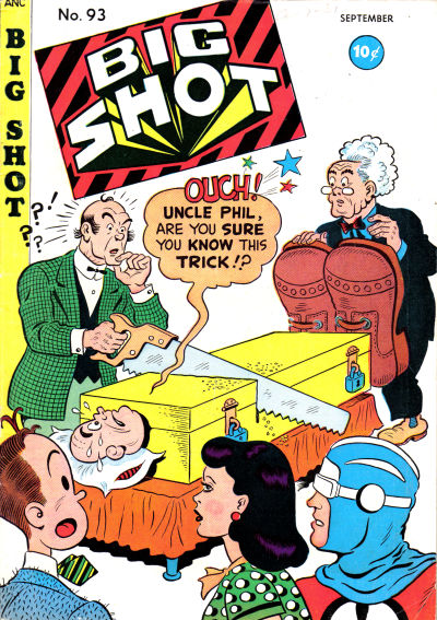 Cover for Big Shot (Columbia, 1942 series) #93