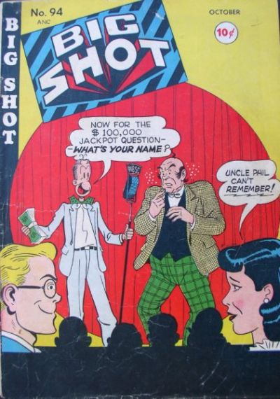 Cover for Big Shot (Columbia, 1942 series) #94