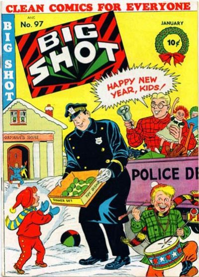 Cover for Big Shot (Columbia, 1942 series) #97