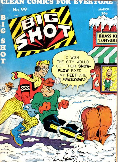 Cover for Big Shot (Columbia, 1942 series) #99