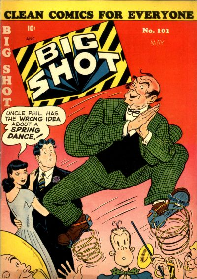 Cover for Big Shot (Columbia, 1942 series) #101