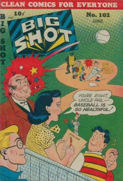 Cover for Big Shot (Columbia, 1942 series) #102