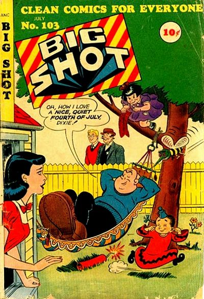 Cover for Big Shot (Columbia, 1942 series) #103