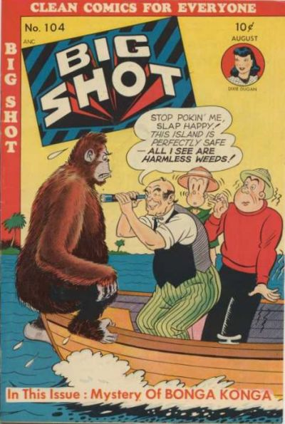 Cover for Big Shot (Columbia, 1942 series) #104