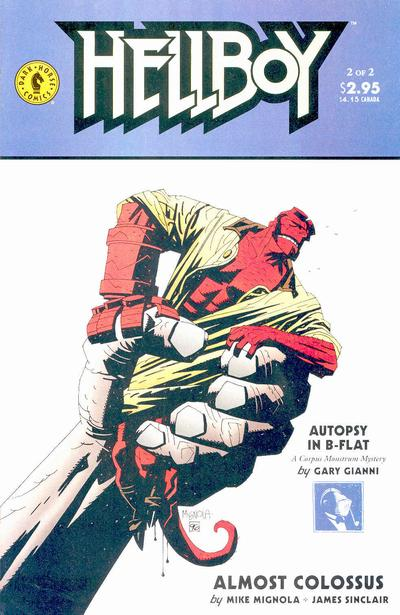 Cover for Hellboy: Almost Colossus (Dark Horse, 1997 series) #2
