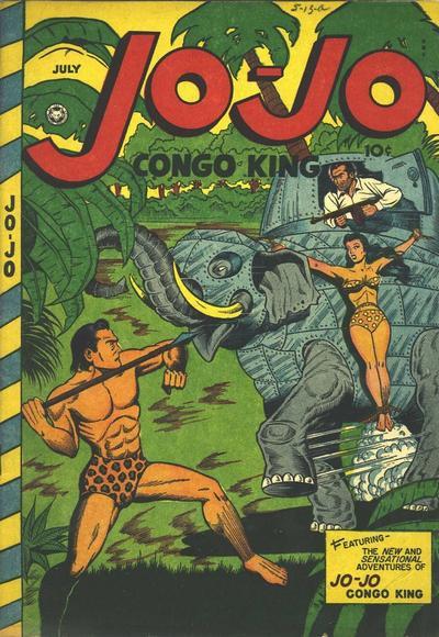Cover for Jo-Jo Comics (Fox, 1946 series) #7[a]