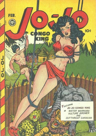 Cover for Jo-Jo Comics (Fox, 1946 series) #11