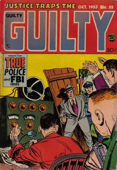 Cover for Justice Traps the Guilty (Prize, 1947 series) #v7#1 (55)