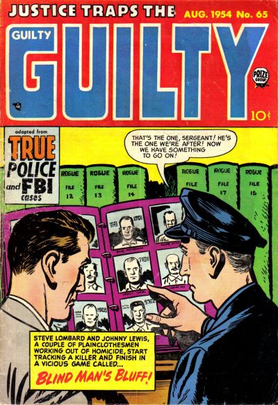 Cover for Justice Traps the Guilty (Prize, 1947 series) #v7#11 (65)