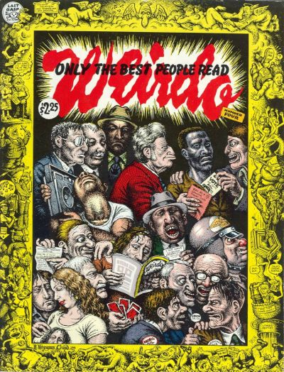 Cover for Weirdo (Last Gasp, 1981 series) #4