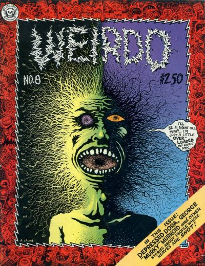 Cover for Weirdo (Last Gasp, 1981 series) #8 [2nd print- 3.95 USD]