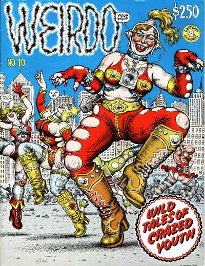 Cover for Weirdo (Last Gasp, 1981 series) #10