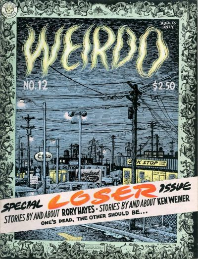 Cover for Weirdo (Last Gasp, 1981 series) #12 [1st printing]