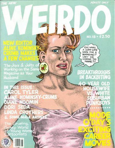 Cover for Weirdo (Last Gasp, 1981 series) #18