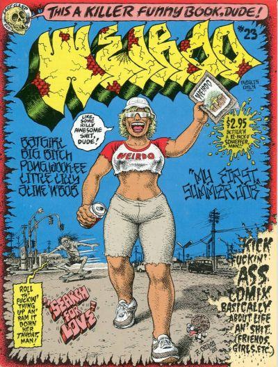 Cover for Weirdo (Last Gasp, 1981 series) #23