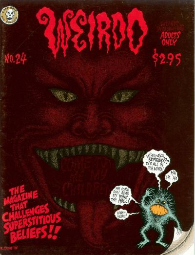Cover for Weirdo (Last Gasp, 1981 series) #24 [2nd print- 4.95 USD]