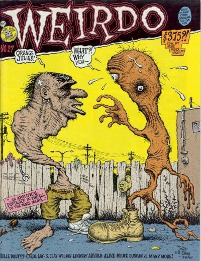 Cover for Weirdo (Last Gasp, 1981 series) #27
