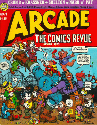 Cover for Arcade (The Print Mint Inc, 1975 series) #1
