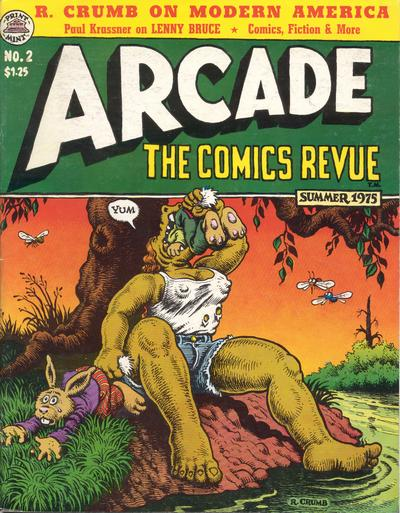 Cover for Arcade (The Print Mint Inc, 1975 series) #2
