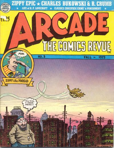 Cover for Arcade (The Print Mint Inc, 1975 series) #3