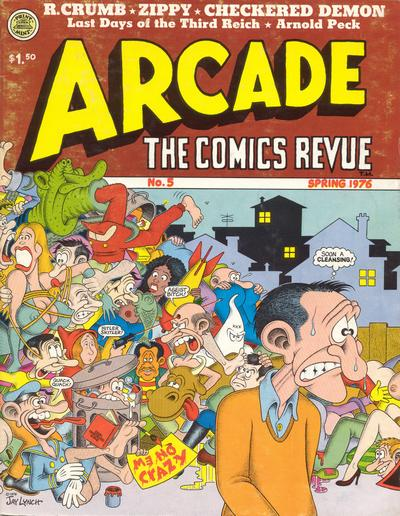 Cover for Arcade (The Print Mint Inc, 1975 series) #5