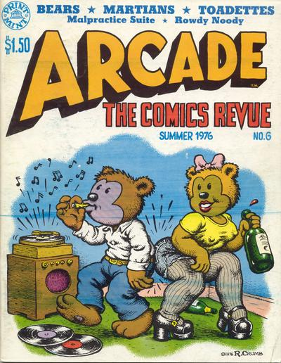 Cover for Arcade (The Print Mint Inc, 1975 series) #6