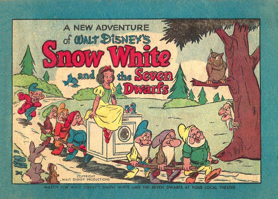 Cover for Snow White and the Seven Dwarfs (Western, 1952 series) #[nn]