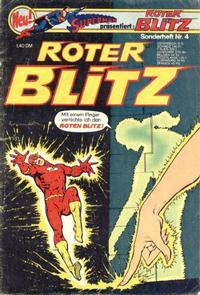 Cover Thumbnail for Roter Blitz (Egmont Ehapa, 1976 series) #4