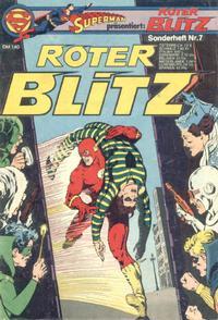 Cover Thumbnail for Roter Blitz (Egmont Ehapa, 1976 series) #7