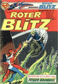 Cover Thumbnail for Roter Blitz (Egmont Ehapa, 1976 series) #12