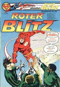 Cover Thumbnail for Roter Blitz (Egmont Ehapa, 1976 series) #15