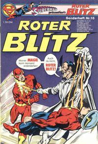 Cover Thumbnail for Roter Blitz (Egmont Ehapa, 1976 series) #16