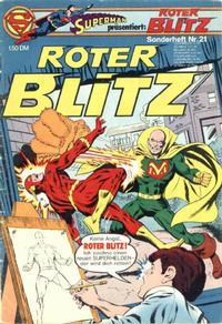 Cover Thumbnail for Roter Blitz (Egmont Ehapa, 1976 series) #21