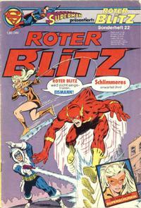 Cover Thumbnail for Roter Blitz (Egmont Ehapa, 1976 series) #22