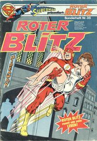 Cover Thumbnail for Roter Blitz (Egmont Ehapa, 1976 series) #35