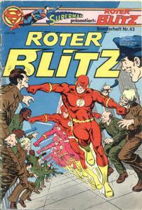 Cover Thumbnail for Roter Blitz (Egmont Ehapa, 1976 series) #43