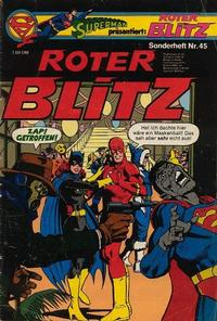 Cover Thumbnail for Roter Blitz (Egmont Ehapa, 1976 series) #45