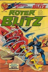 Cover Thumbnail for Roter Blitz (Egmont Ehapa, 1976 series) #3/1980